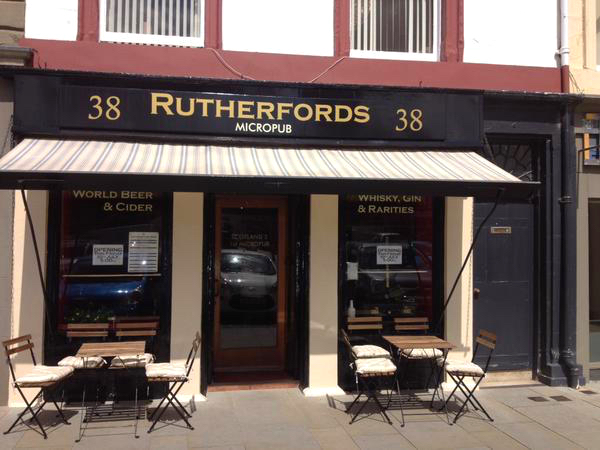 Rutherfords – the 1st in Scotland
